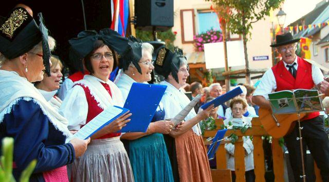 Eröffnung Gassen-Weinfest 2015