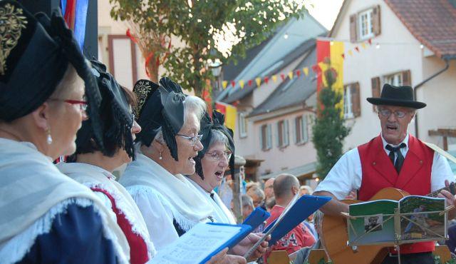 Gassen-Weinfest 2015 Eröffnung