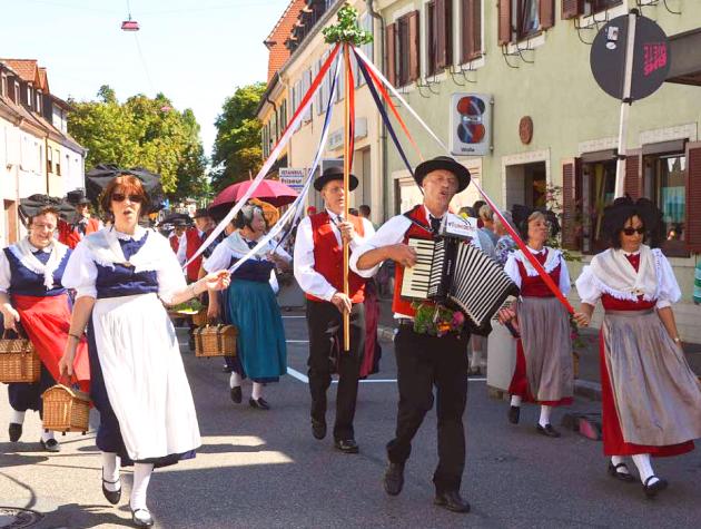 Kreis-Trachtenfest Breisach