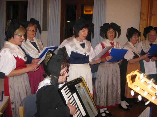 Neujahrsempfang singen