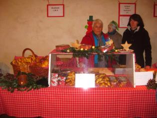 Verkaufsstand beim Wintermarkt 2016