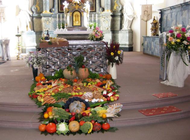 Erntedank 2018, Kirche St. Remigius